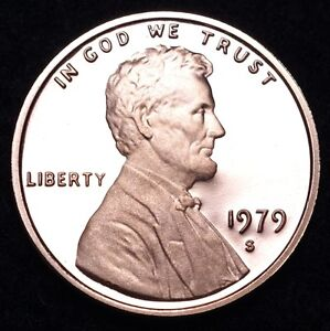Details about 1979 S Lincoln Memorial Mint Proof Penny ~ Type 2 Clear S ~  From U S  Proof Set