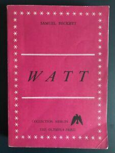 Samuel-BECKETT-1953-Watt-novel-Olympia-Press-Scarce-1st-edition-in-English
