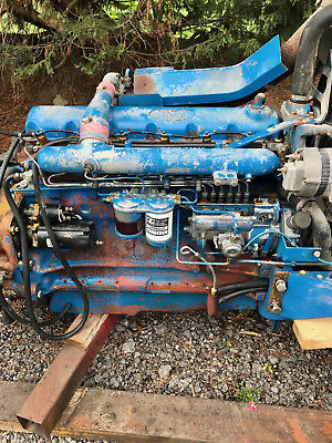 ford 8630 tw tractor engine 6 cylinder turbo ebay. Black Bedroom Furniture Sets. Home Design Ideas