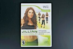 Jillian Michaels Fitness Ultimatum 2009 (Nintendo Wii, 2008) Free Shipping
