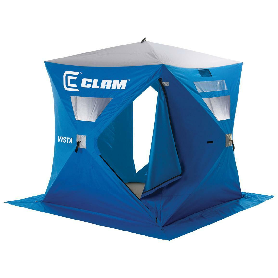 CLAM VISTA 9127 2-3 PERSON  ICE FISHING SHELTER  brand on sale clearance