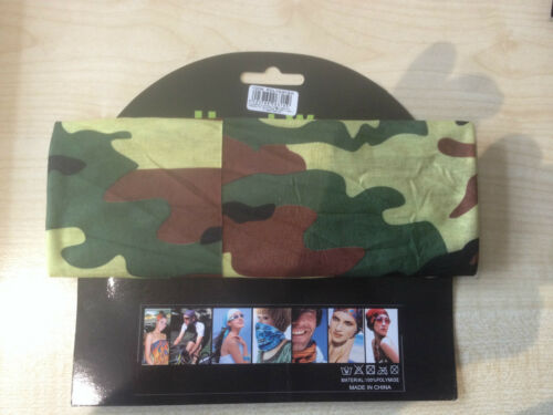 Multi Use 3 in 1 Headband Snood Hat Scarf in 3 Great colours Trusted UK Seller
