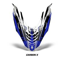 Yamaha Viper SR/SRT Sled Sticker Decal Hood Graphic Kit 2013-2014 CARBONX - BLUE