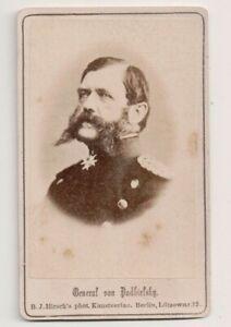 Vintage-CDV-Eugen-Anton-Theophil-von-Podbielski-Prussian-general