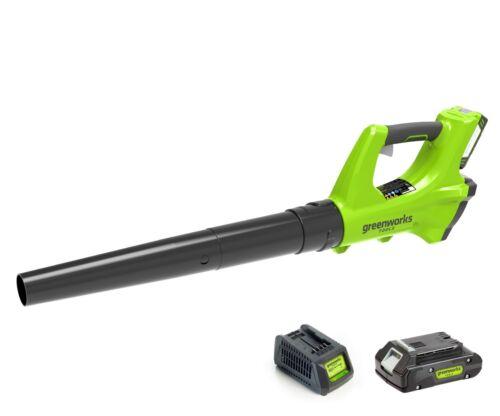 greenworks 24volt battery leaf blower A-grade