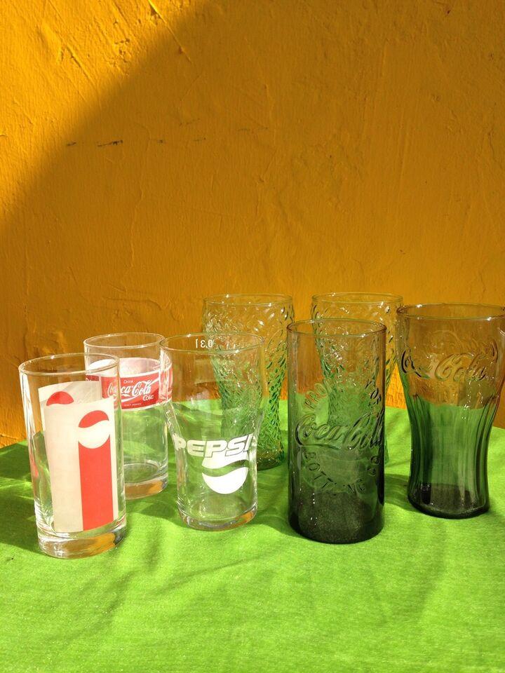 Coca Cola, Gamle Coca cola glas mm