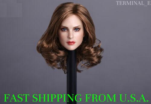 1//6 American Female Head Sculpt B For Hot Toys Phicen Female Figure ❶USA❶