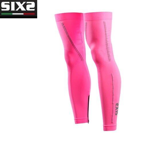 Leg warmers X MIX Bike BIKE SIXS PINK FLUORESCENT PINK 100% made in  GAMI