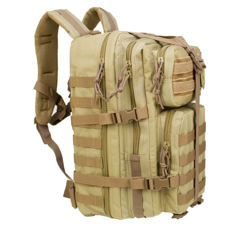 3 V Gear VELOX II Tactical Assault Zaino Borsa Zaino Coloreeeeee Coyote Tan