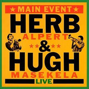 HERB-amp-MASAKELA-HUGH-ALPERT-MAIN-EVENT-LIVE-CD-NEU