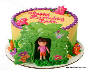 DORA Explorer Diego Cake Party Birthday Supplies Decoration Cupcake