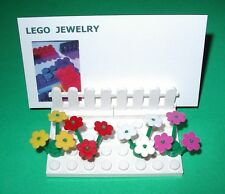 LEGO OFFICE DESK BUSINESS CARD HOLDER  CUSTOM MAKE FOR YOU FLOWER   COUNTER TOP