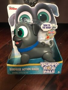 d775d7ffa19 BRAND NEW DISNEY JUNIOR Puppy Dog Pals Surprise Action Bingo WALKS ...