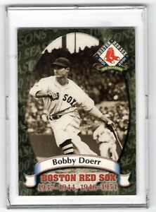 2001-Bobby-Doerr-Boston-Red-Sox-100-Seasons-1901-2001-8-of-16-Nm-Mt