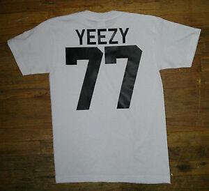 Short-sleeves-yeezy-t-shirt-hip-hop-streetwear-kanye-jersey-club-stars-Proclub