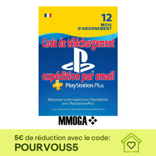 PlayStation Plus abonnement de 12 mois 365 jours 1 année PSN Compte français FR