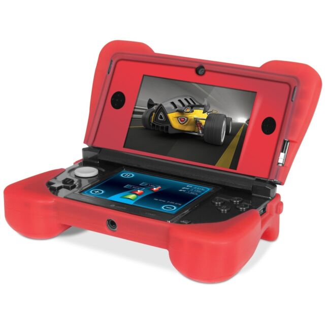 Loose Red Dreamgear Comfort Grip Silicone Case for OLD Nintendo 3DS NOT XL