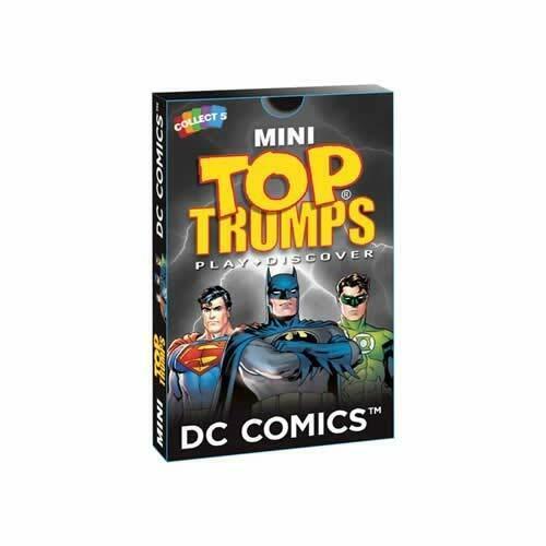 DC COMIC TOP TRUMPS MINI