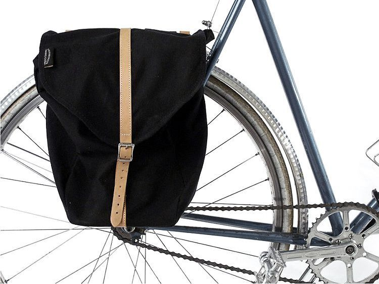 Minnehaha  Canvas Bicycle Pannier Bag  fishional store for sale