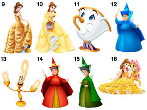 Beauty And The Beast B Stickers Wall Decoration Diy Arts Crafts