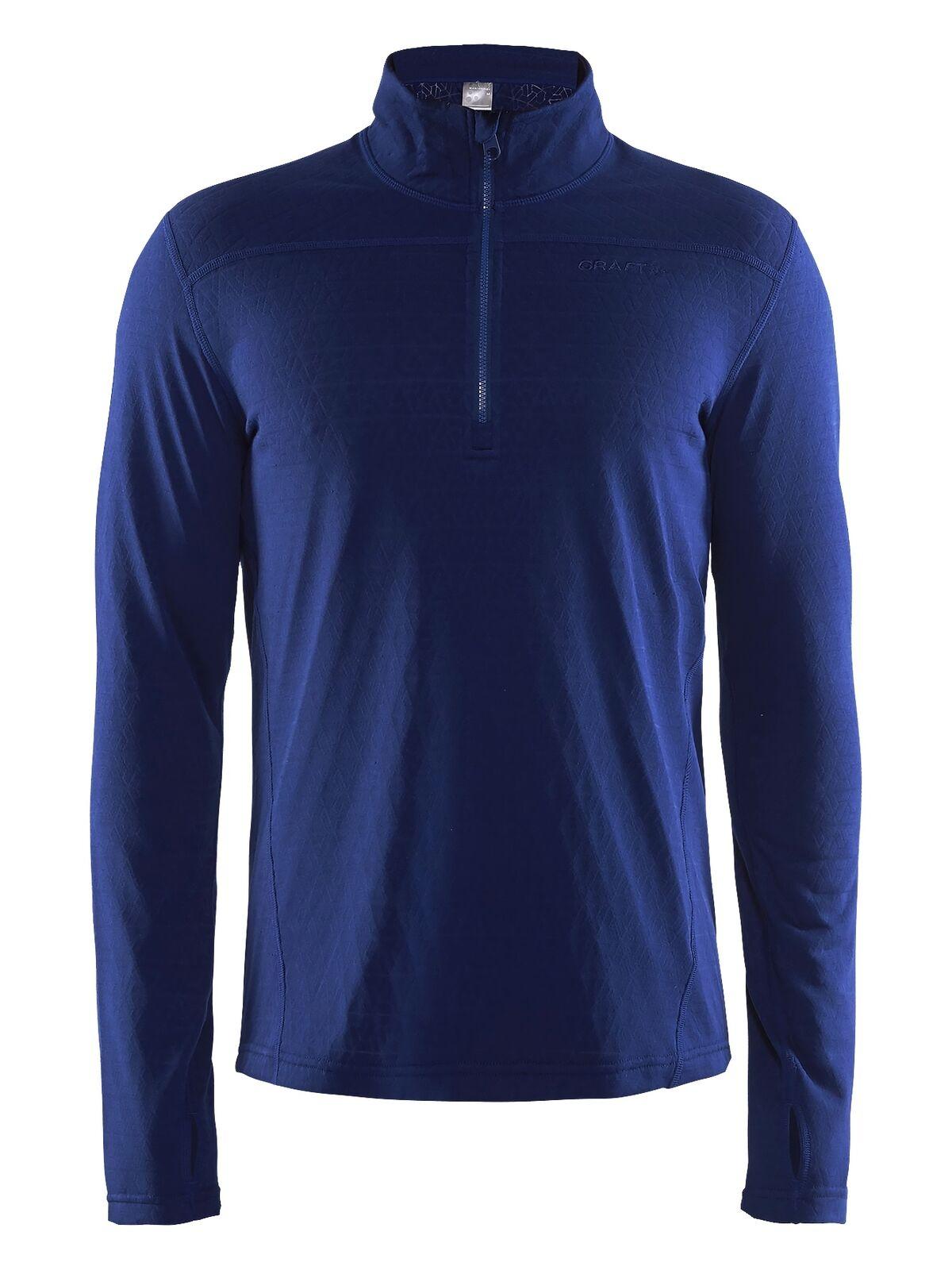 Craft Pin half Zip M MEN'S Jumper Sweatshirt Long Sleeve Sport Sweaters
