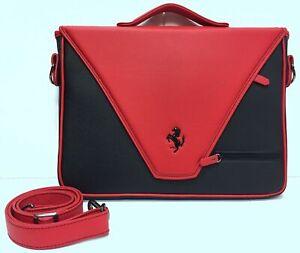 Genuine-Brand-New-Ferrari-Envelope-PC-Tablet-Black-and-Red-P-N-70004633