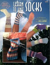 A BIT-O-LACE CUSHIONED SPORT FOOTIES to KNIT in DK or SPORT WEIGHT YARN