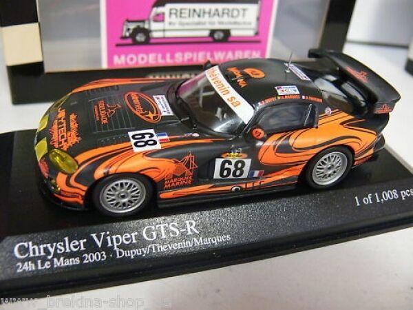 1 43 Minichamps Chrysler Viper GTS-R 24h Le Mans  68 400031468