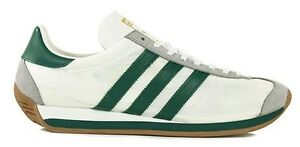 ADIDAS Originals COUNTRY OG Vintage Da Donna Scarpe da ginnastica in nylon Taglia UK 3.5 5.5