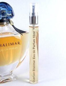 Guerlain Shalimar Eau de Parfum 10ml Glass Spray EDP .33oz Travel ...