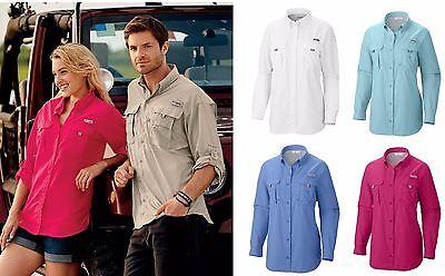 Columbia - Ladies Bahama, Long Sleeve or Women's Short Sleeve Shirts, Size XS-XL