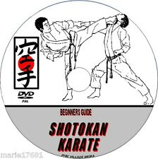 SHOTOKAN KARATE MARTIAL ARTS DVD EXPERT TUITION EASY STREET SELF DEFENCE MMA NEW