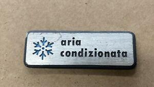 Alfa Romeo  Aria Condizionata Badge