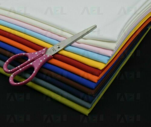 Grade - B Stock Polycotton Fabric Plain Polyester Cotton AEL Face coverings