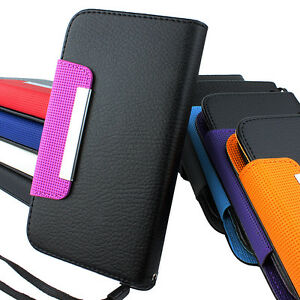 For-Samsung-Galaxy-S-3-III-S3-Flip-Wallet-PU-Leather-Case-Pouch-Screen-Guard