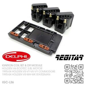 DELPHI-IGNITION-COILS-amp-DFI-MODULE-V6-ECOTEC-3-8L-HOLDEN-VS-VT-VX-VY-COMMODORE