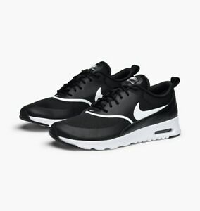 Da-Donna-Nike-Air-Max-Thea-UK-3-5-US-6-EUR-36-5-Nero-Bianco-599409-028