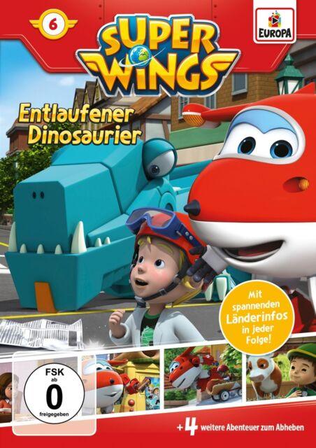 Super Wings - Super Wings - Entlaufener Dinosaurier, 1 DVD