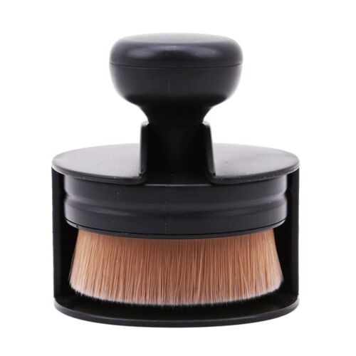 Round-Makeup-Brush-Foundation-Brush-Universal-Blush-Women-Femal-Flat-Cosmetic-LI