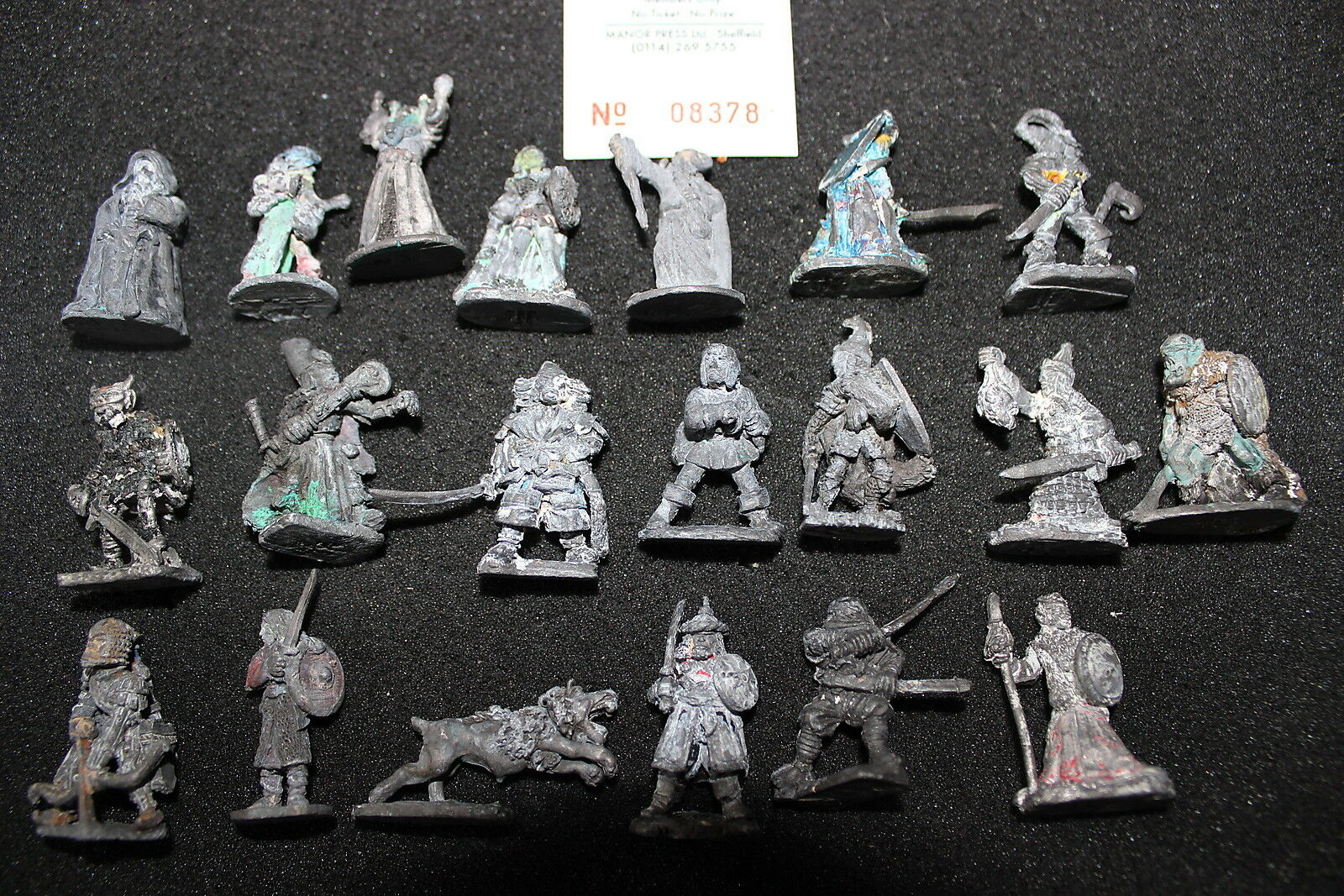 Games Workshop Pre Slotta Solid Base Citadel OOP 1980s Lead Metal Figures Army D
