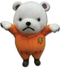 """NEW Great Eastern GE-52551 One Piece - 9"""" Bepo in Orange Jumpsuit Plush Doll"""