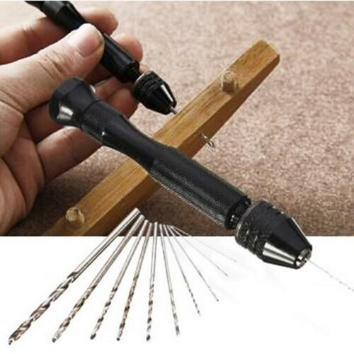 Woodwork Hand Miniature Drills Mini Micro Drill Tool Bit Keyless Chuck New Z