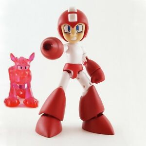 RED-MEGA-MAN-WITH-RUSH-Bandai-Shokugan-Secret-Mega-Man-66-Action-Mini-Figure-1