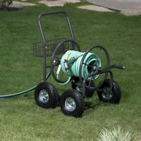 Liberty Garden 4-wheel Hose Reel Cart on sale
