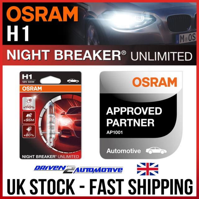 New 10x Osram 12v Clear Halogen Car Bulbs Multi-Pack W5W