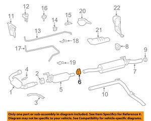 mercedes oem 10 13 sprinter 2500 3 0l v6 exhaust filter clamp exhaust system diagram image is loading mercedes oem 10 13 sprinter 2500 3 0l