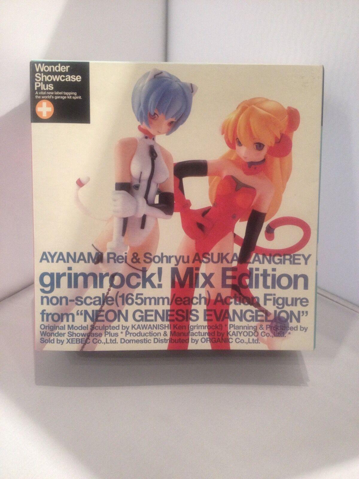 Ayanami Rei & Sohryu Asuka Langrau Grimrock Mix Edition Neon Genesis Evangelion