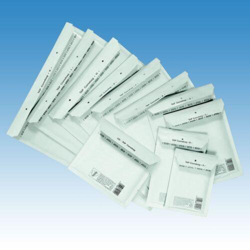 1200 Luftpolsterumschläge Luftpolstertaschen Größe CD weiß TAP