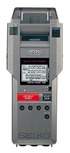 SEIKO Stopwatch SVAS00 7Printer Integrated system from Japan F S New