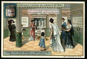 Ancient-Roman-Womens-Domestic-Sanctuary-c1905-Trade-Ad-Card